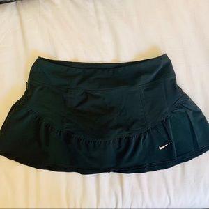 Nike Ruffled Tennis Skort - Black NWOT
